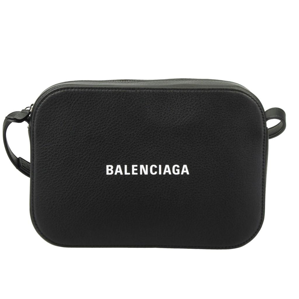 【期間限定ポイント5倍】バレンシアガ ショルダーバッグ BALENCIAGA 552370 DLQ4N 1000 BLACK EVERYDAY CAMERA