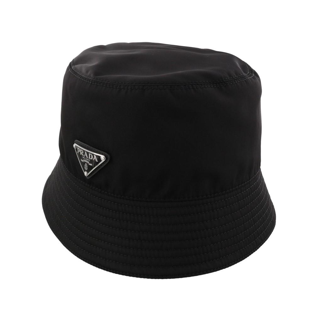PRADA プラダ 帽子 レディース ブラック 1HC137 2B15 F0002 NERO