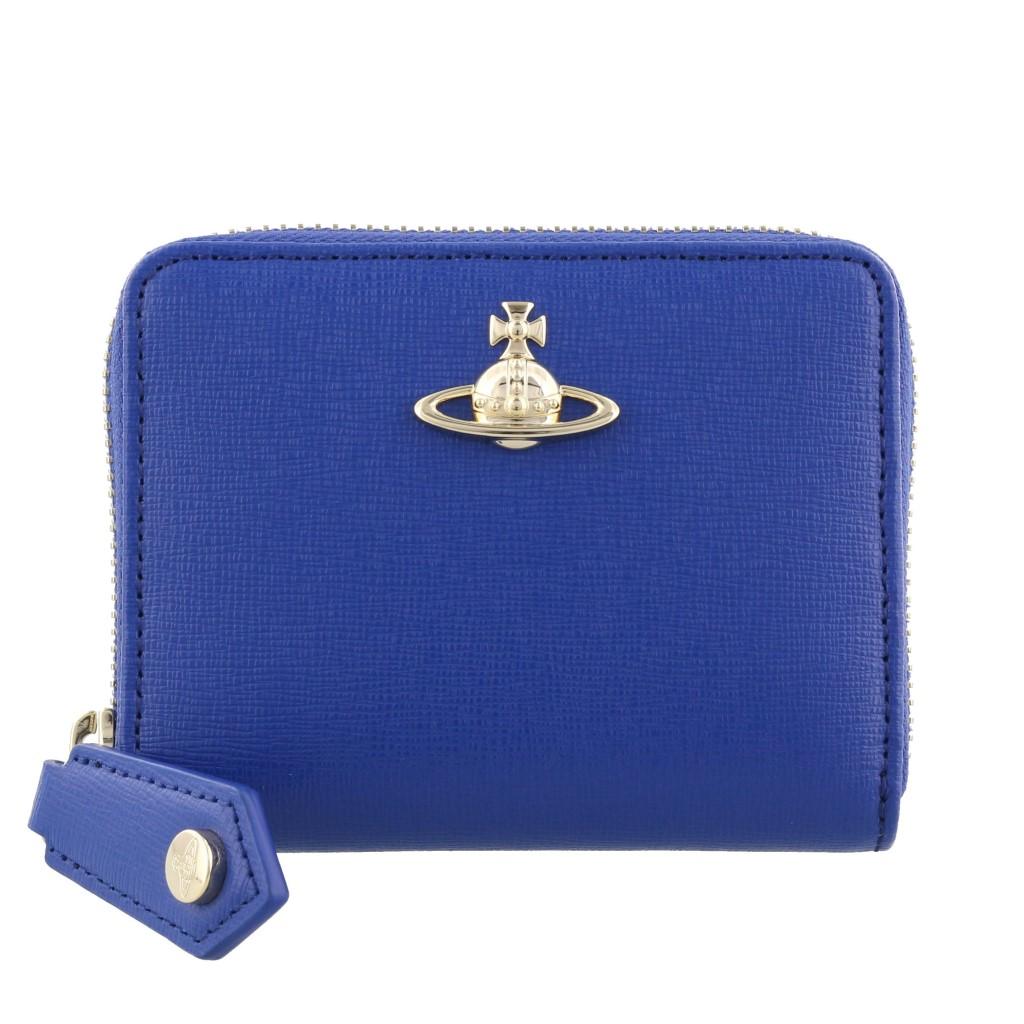 Vivienne Westwood ヴィヴィアンウエストウッド コインケース ブルー 51080001 SAFFIANO BLUE