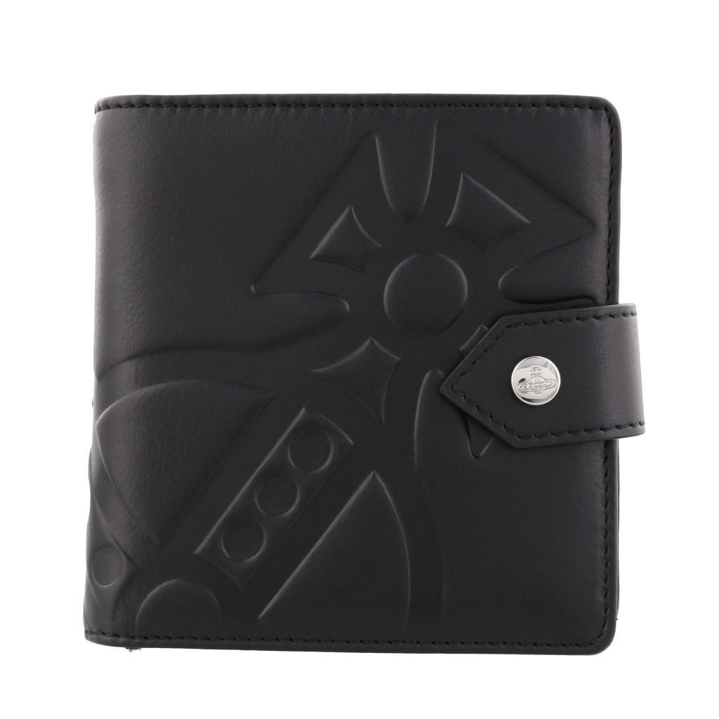 Vivienne Westwood ヴィヴィアンウエストウッド 二つ折り財布 メンズ レディース 51090001 CHESTER BLACK
