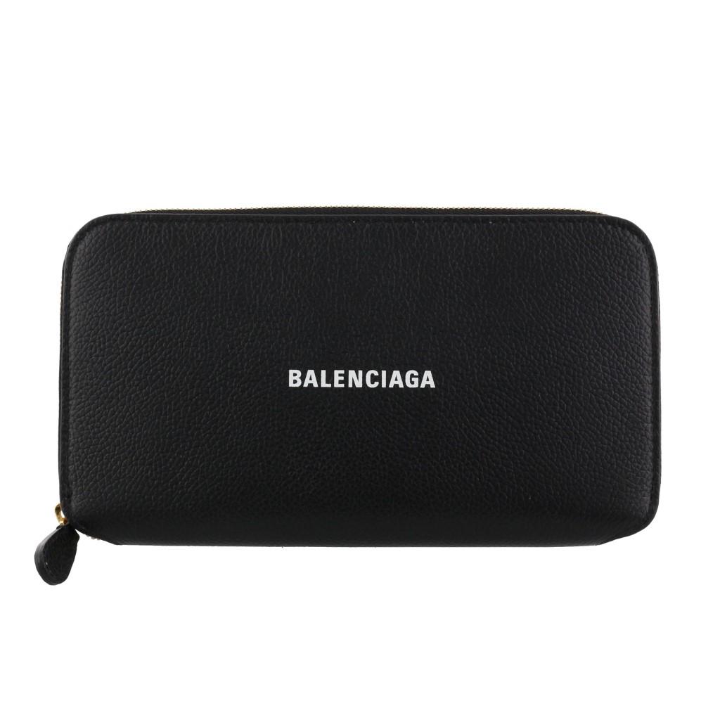 BALENCIAGA バレンシアガ 長財布 メンズ ブラック 594290 1IZ4M 1090