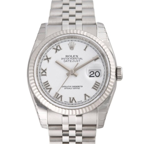 ROLEX Rolex date just 116234 white men
