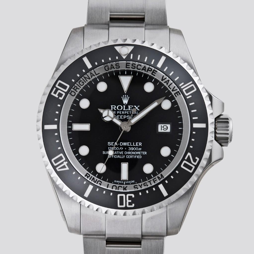 ROLEX Rolex sea-dweller deepsea 116660 black mens