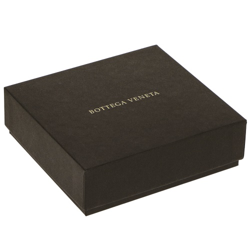 72時間ポイント5倍 ボッテガヴェネタ BOTTEGA VENETA 三つ折り財布 メンズ イントレチャート ブラック 515CxBoreWd