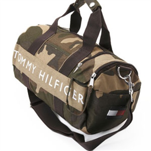 TOMMY HILFIGER トミーヒルフィガー L200155 937 CAMO mini-duffel Boston bag