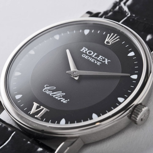 ROLEX ロレックスチェリーニ 5115/9 black men