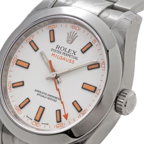 ROLEX Rolex mil gauss 116400 white men