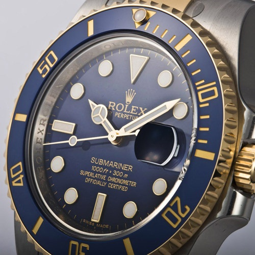 ROLEX Rolex Submariner 116613 LB blue mens