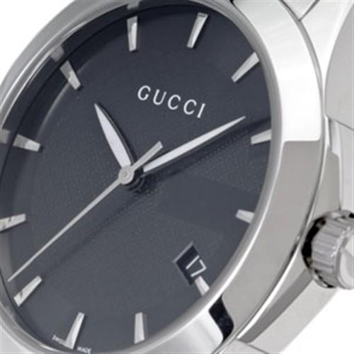 GUCCI Gucci watch men YA126402 #126 G thyme reply