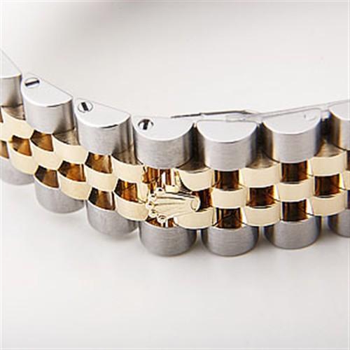ROLEX Rolex date just 116233 champagne gold men