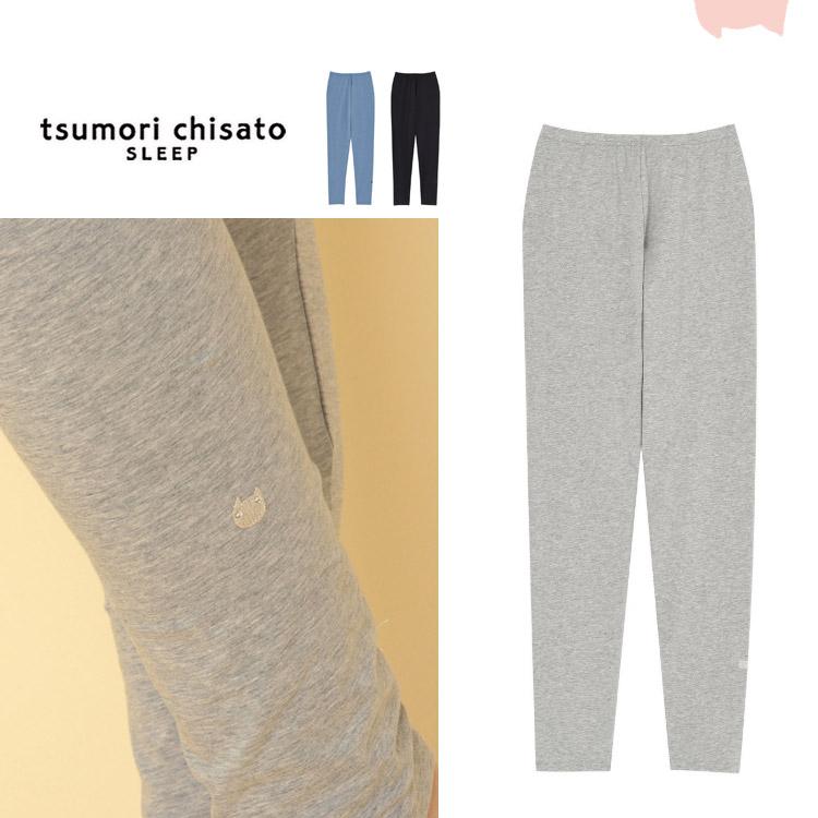 ワコール tsumori chisato かわいい ルームウェア 部屋着 LLサイズ 日本産 ツモリチサト レギンス 通年 通信販売 ロング丈 大きいサイズ
