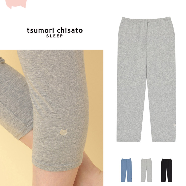 ワコール tsumori chisato かわいい ルームウェア 割引 部屋着 7分丈 通年 レギンス 信用 LLサイズ ツモリチサト 大きいサイズ