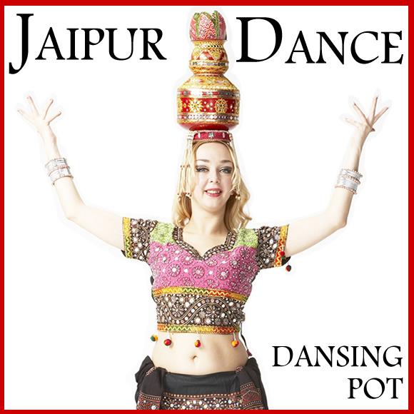【ジャイプール・ダンス】ダンシングポットベリーダンス上級アイテムメール便発送不可