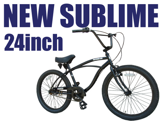 loversrock: NEW SUBLIME 24 inch CRUISER STYLE bikes Californian new ...