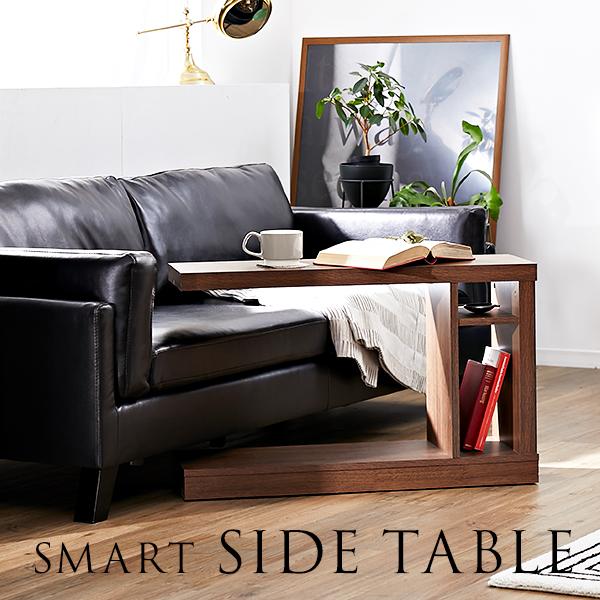 [クーポンで最大12%OFF!8/6 0:00~8/9 01:59] サイドテーブル 幅80cm 収納棚 木目 フリーラック キャスター付き モダン シンプル テーブル