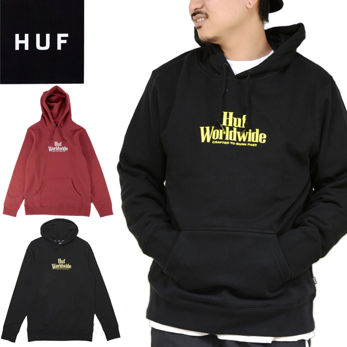 HUF Mens Bandana Box Logo Pull Over Hood
