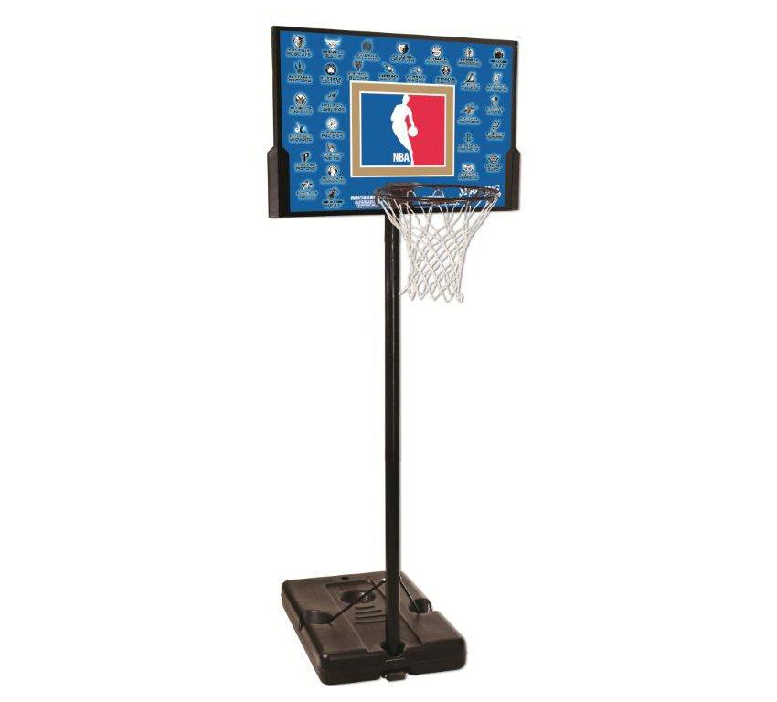 【送料無料】【代引き不可】SPALDING(スポルディング) バスケットゴール NBA TEAM SERIES(チームシリーズ) 63501CN【最安値に挑戦】
