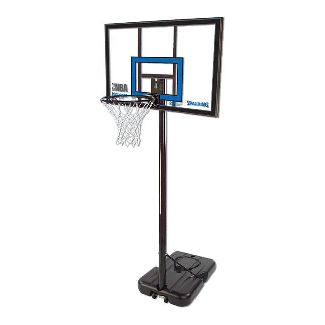 【送料無料】【代引き不可】SPALDING(スポルディング) バスケットゴール HILIGHT ACRYLIC PORTABLE(ハイライト アクリル ポータブル) 77455CN 【最安値に挑戦】