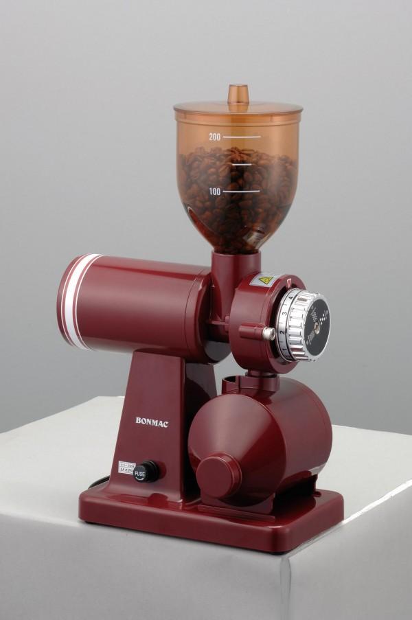 【送料無料】ボンマック コーヒーミル レッド BM-250N