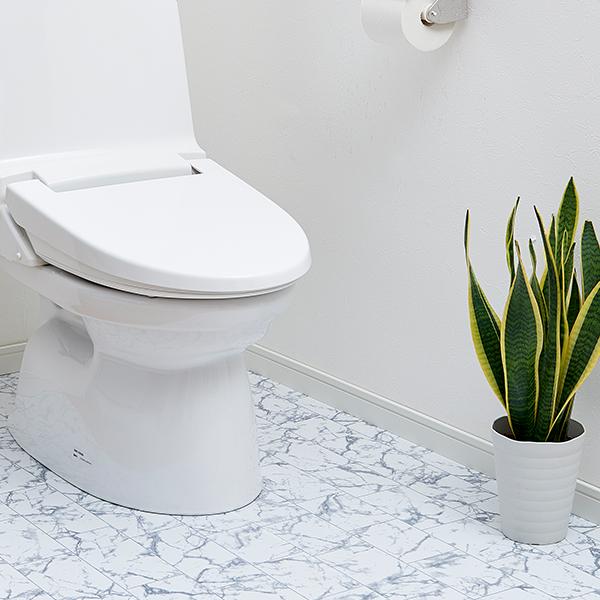 トイレ床模様替えシート 大理石タイル柄 新作からSALEアイテム等お得な商品 満載 本日限定 1009058