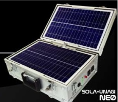 【送料無料】ソーラー式ポータブル発電器 ソラ・ウナギ ネオ(SOLA・UNAGI NEO) JET26-20AA【最安値に挑戦】