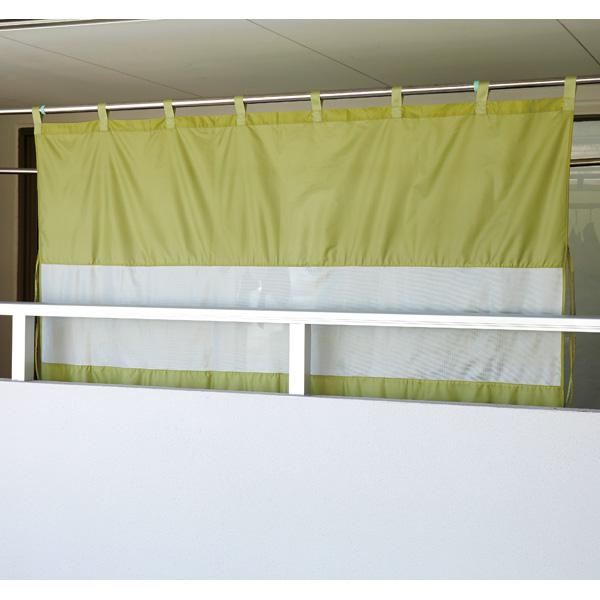 送料無料激安祭 送料無料 代引き不可 風を通す雨よけベランダカーテン A-02 最安値に挑戦 セール価格
