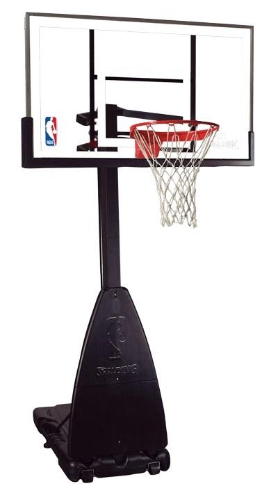 【送料無料】【代引き不可】SPALDING(スポルディング) バスケットゴール バスケットゴール プラチナムポータブル 68490JP