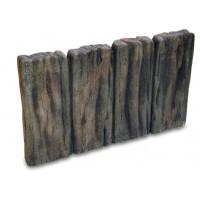 【同梱・代引き不可】NXstyle 花壇材 ガーデンスリーパー平行四連 ×15個 9900281