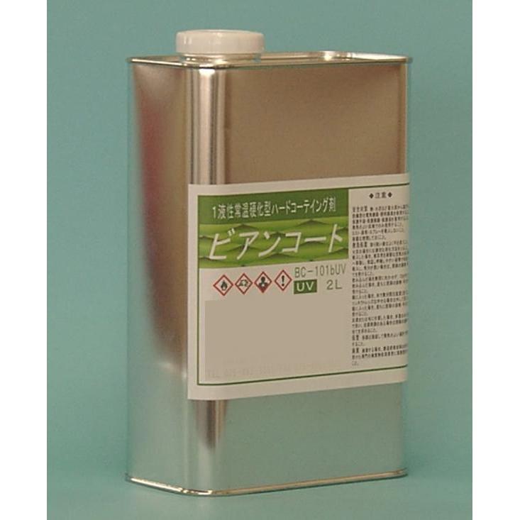 【同梱・代引き不可】ビアンコジャパン(BIANCO JAPAN) ビアンコートB ツヤ有り(+UV対策タイプ) 2L缶 BC-101b+UV