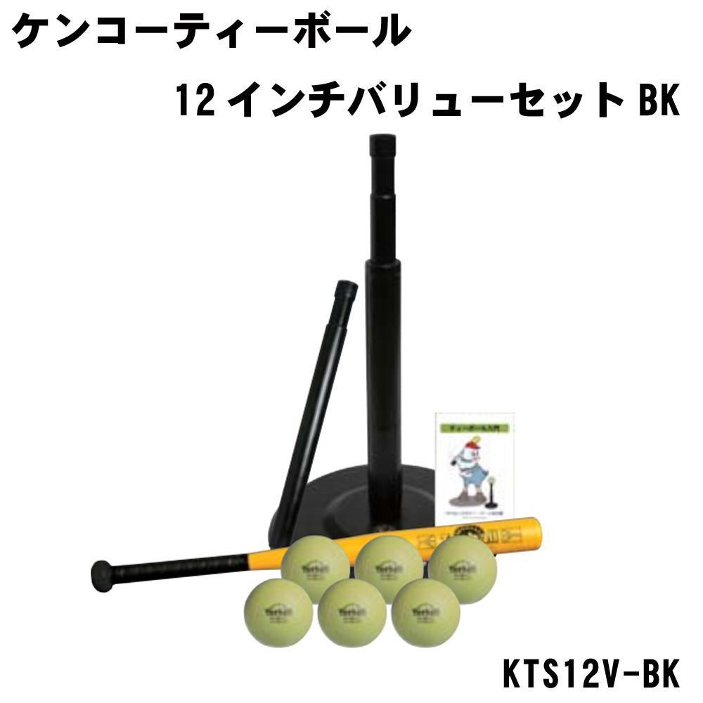 ナガセケンコー ケンコーティーボール12インチバリューセットBK KTS12V-BK