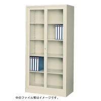 【同梱・代引き不可】SEIKO FAMILY(生興) スタンダード書庫 ガラス引戸データファイル書庫 G-36G5