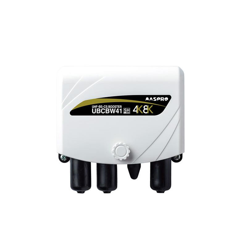 マスプロ電工 家庭用UHF・BS・CSブースター UBCBW41