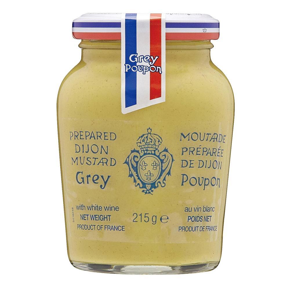 良質な香りのマスタードです 人気激安 未使用 同梱 代引き不可 Grey Poupon グレープポン ディジョン ホット 215g×12個セット