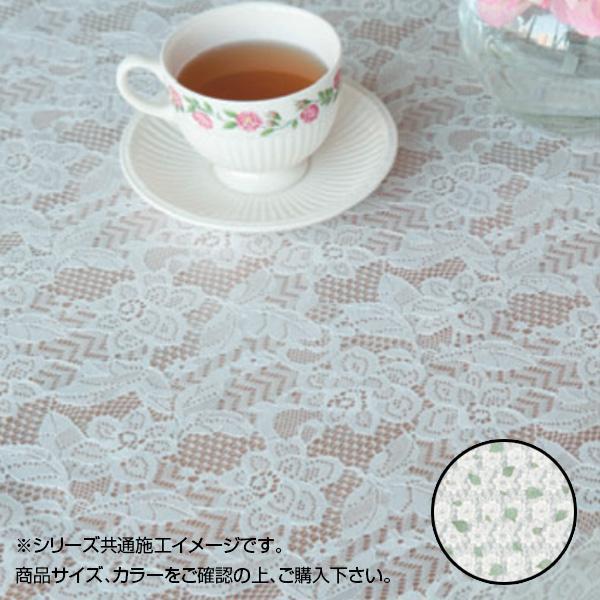 富双合成 テーブルクロス フローラレース 約40cm幅×20m巻 FP3001-40 グリーン