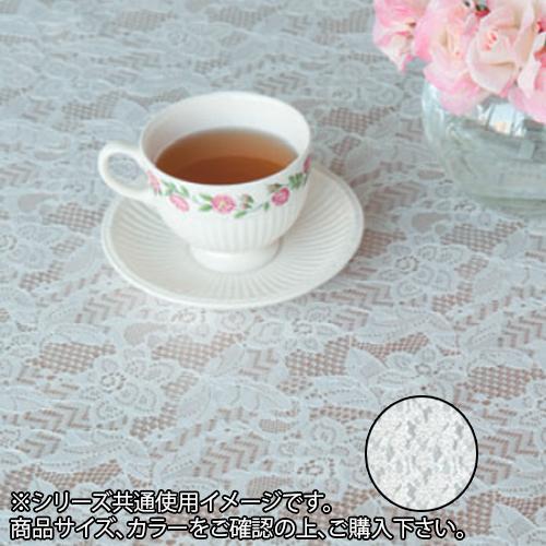 富双合成 テーブルクロス フローラレース 約130cm幅×20m巻 FP2006 ホワイト