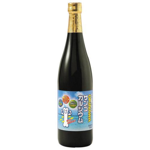 【同梱代引き不可】沖縄ハム(オキハム) OKINAWAサンゴカルシウム 720ml×12本 15036001