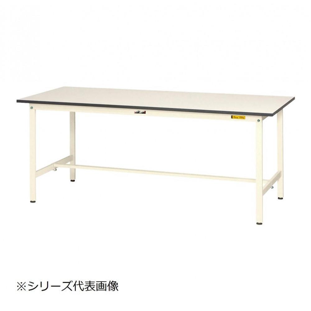 【同梱代引き不可】山金工業(YamaTec) SUP-960-WW ワークテーブル150シリーズ 固定式(H740mm) 900×600mm