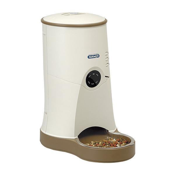 【同梱代引き不可】山佐時計計器 自動給餌器 わんにゃんぐるめ CD-600 ベージュ