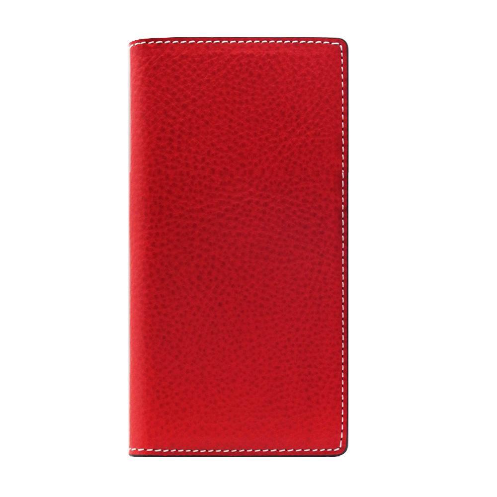 SLG Design iPhone8/7 Minerva Box Leather Case レッド