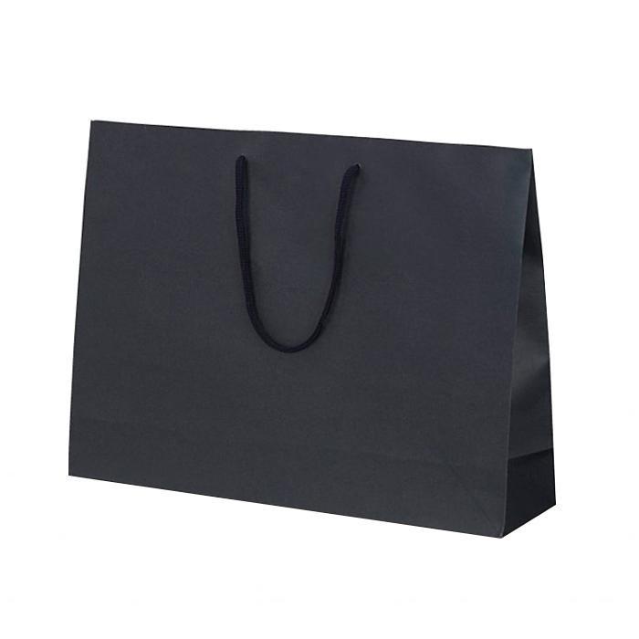 T-Y カラークラフト 紙袋 430×110×320mm 100枚 ネイビー 1041