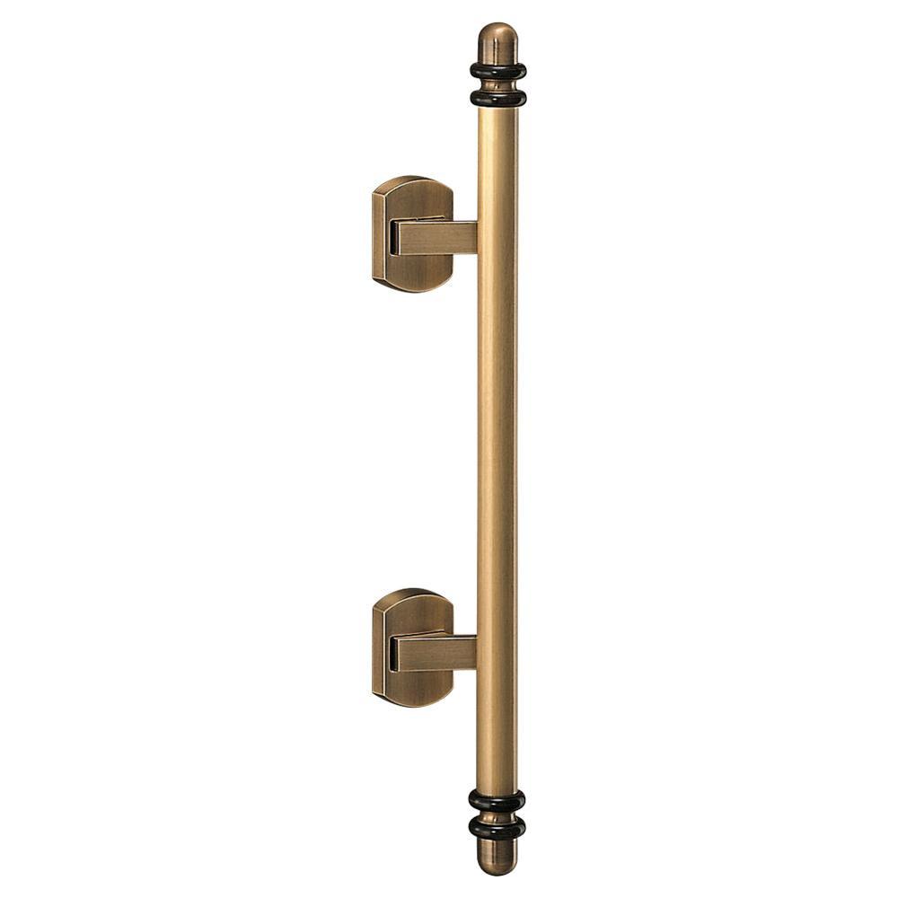 シンプルでおしゃれなデザインのハンドルです。 プッシュプルハンドル ソレイユ 真鍮・積層 SPP-11 仙徳