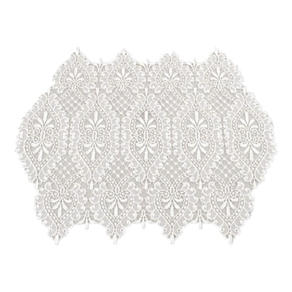 川島織物セルコン ギュピールレース テーブルセンター 40×150Ecm HK1506 I アイボリー