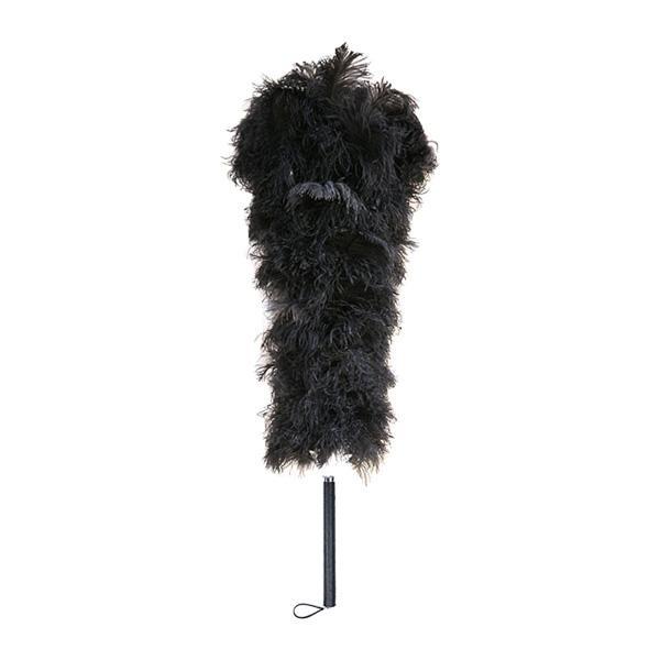 【同梱代引き不可】石塚羽毛 日本製 オーストリッチ毛ばたき 1000mm D100