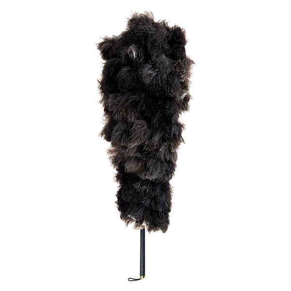 【同梱代引き不可】石塚羽毛 日本製 オーストリッチ毛ばたき 1150mm D200