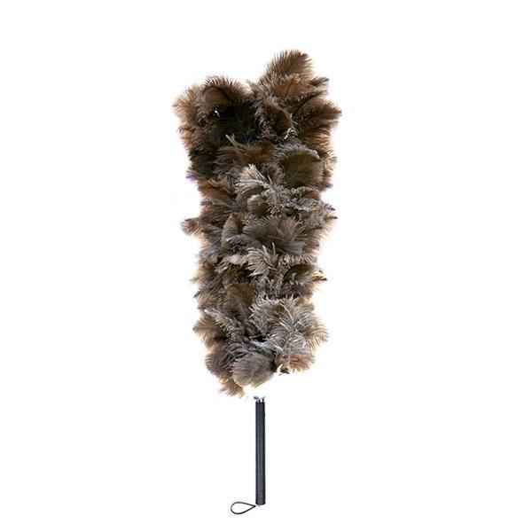 【同梱代引き不可】石塚羽毛 日本製 オーストリッチ毛ばたき 1000mm GLD100
