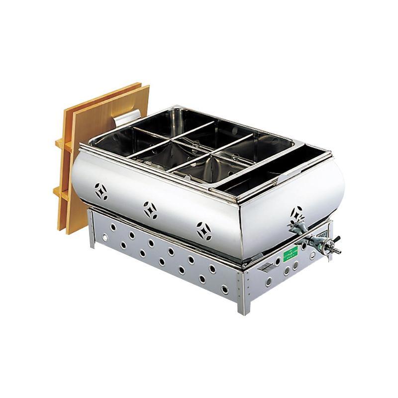 EBM 18-8 湯煎式 おでん鍋 尺5(45cm)LP 885210