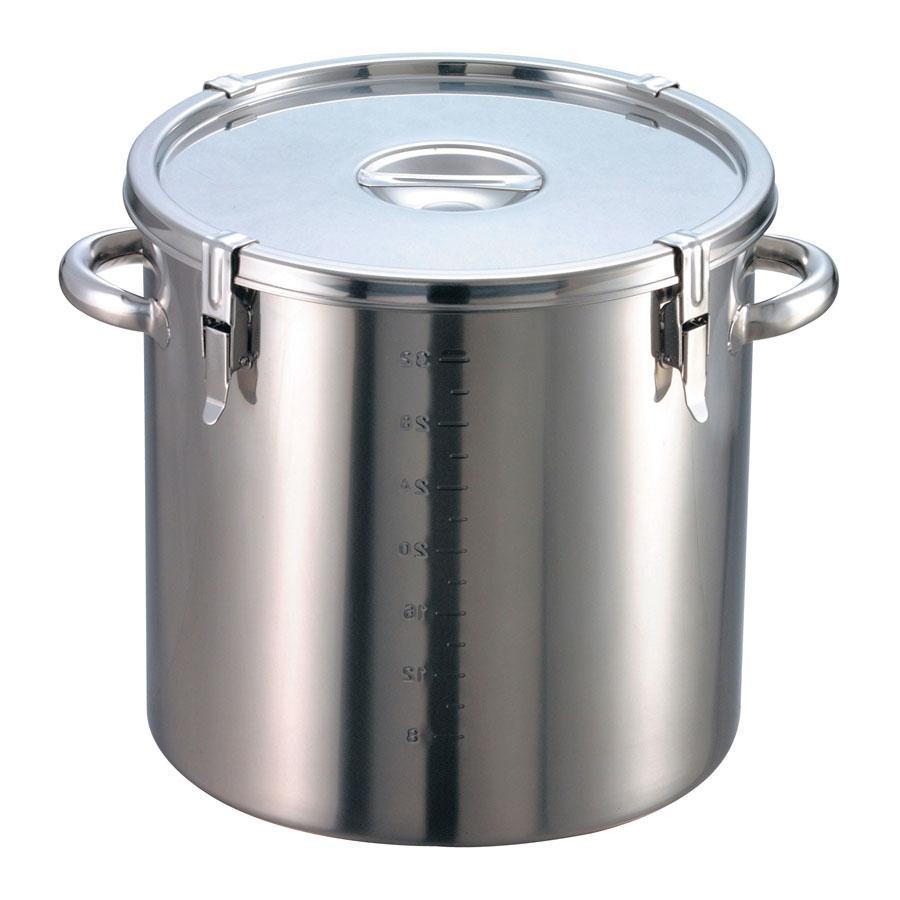 EBM 18-8 パッキン寸胴鍋(目盛付)39cm 手付 8044500