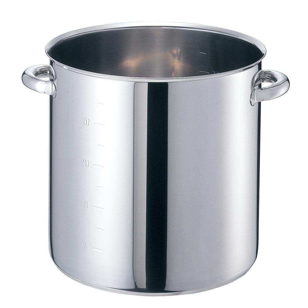 EBM モリブデンジII 寸胴鍋(目盛付)45cm 蓋無 8688900