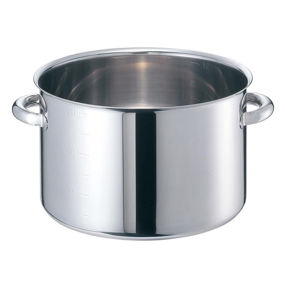 EBM モリブデンジII 半寸胴鍋(目盛付)30cm 蓋無 8689300