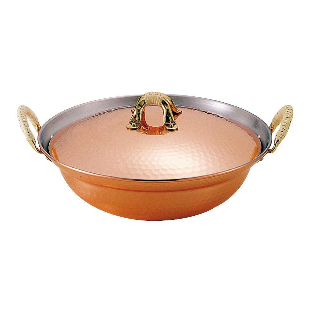 【同梱代引き不可】新光堂 純銅よせ鍋 24cm S-1055S